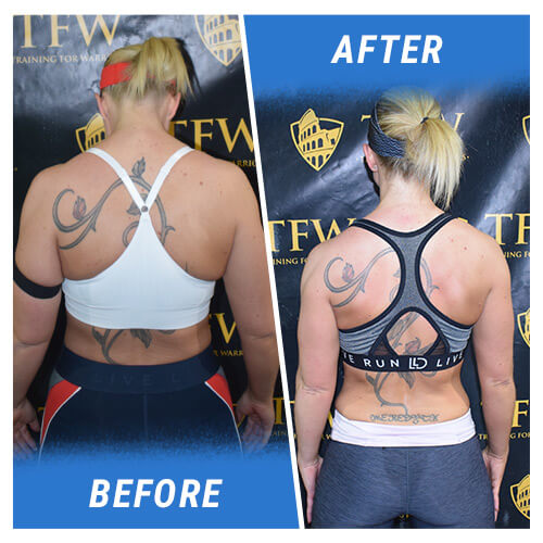 Before & After Back