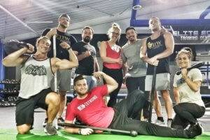 A photo group shot of Elite Edge Trainers
