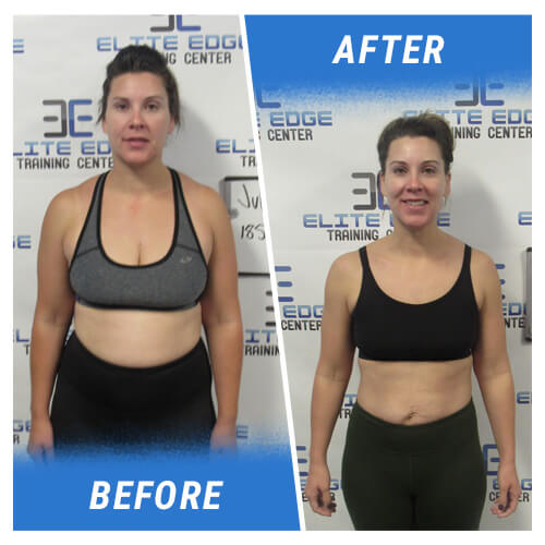 Before & After Front 4