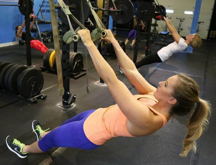 EE Workout TRX