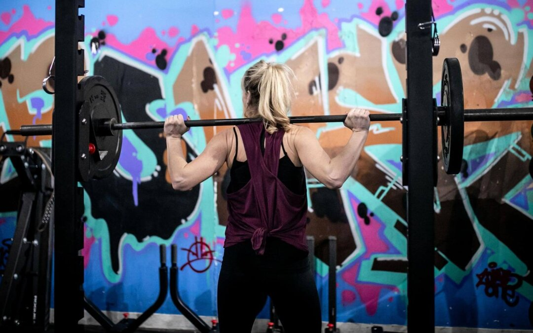 Barbell Woman Hero Image Cropped